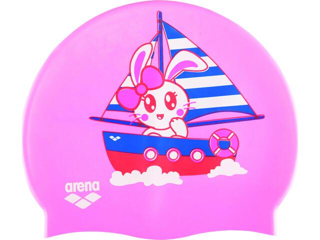 arena Print Cap Kids kun pink
